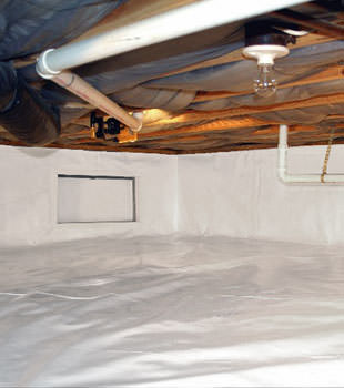 crawl space repair system in Vaughan