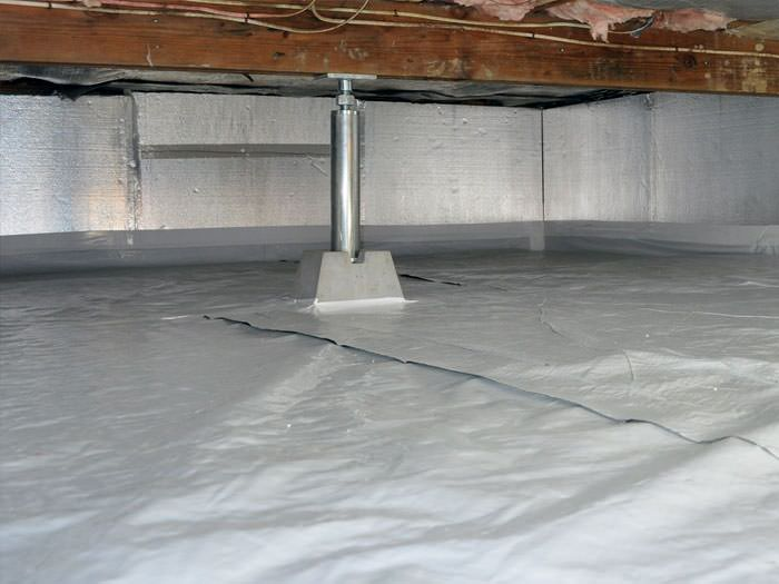 Crawl space cleanup vaughan markham mississauga for Crawl space insulation cost estimator