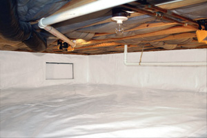 Crawl Space Repair After in Markham