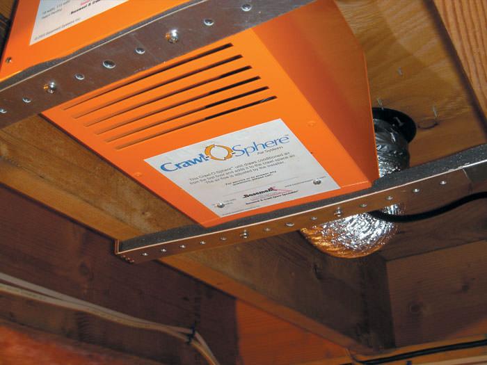 Crawl Space Ventilation Fan In Ontario Crawl Space Venting