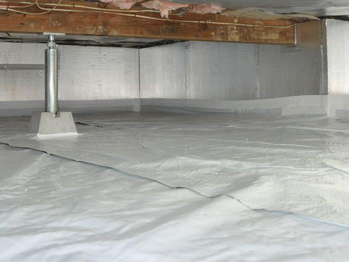 Crawl Space Insulation In Ontario Insulation For Crawl