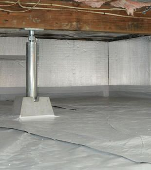 Crawl Space Insulation In Ontario Insulation For Crawl