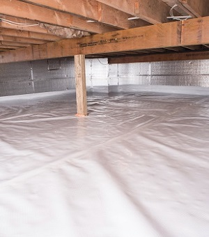 Installed Crawl E Insulation In Ajax