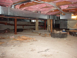 Crawl Space Winterization Vaughan Mississauga Markham