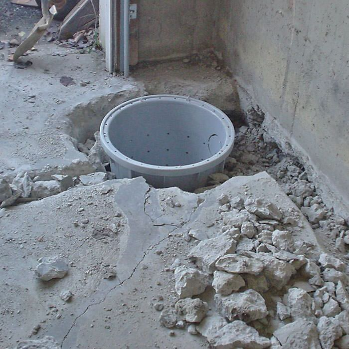 Placing A Sump Pit In Whitby Home