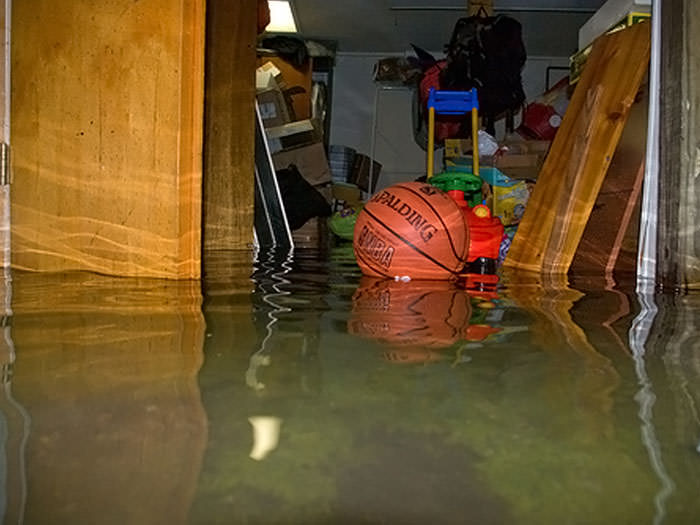 Basement Is Flooding What To Do Part - 17: A Flooded Basement Bedroom In Bridgnorth