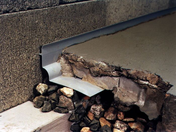 Thin Floor French Drain System in Vaughan, Markham