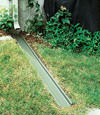 gutter drain extension installed in Burnt River, Ontario